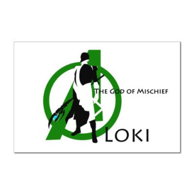 Наклейка (стикер) Loki