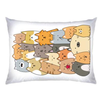 Подушка Смешные коты (funny cats)