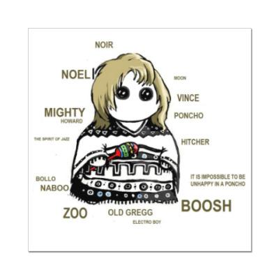 Наклейка (стикер) Noel Fielding ( Mighty Boosh )