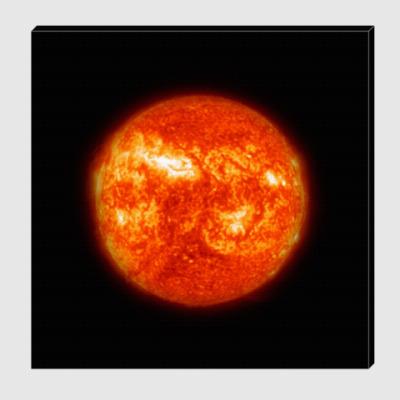 Холст Солнце