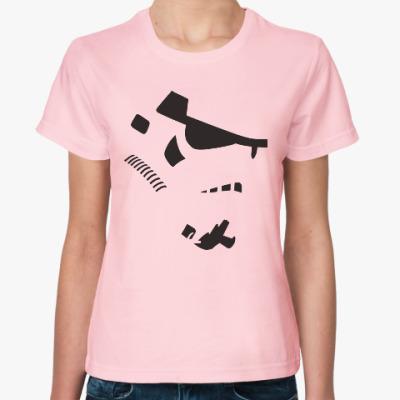 Женская футболка Штурмовик
