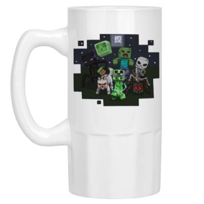 Пивная кружка Minecraft
