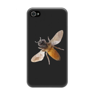 Чехол для iPhone 4/4s Пчела / Bee