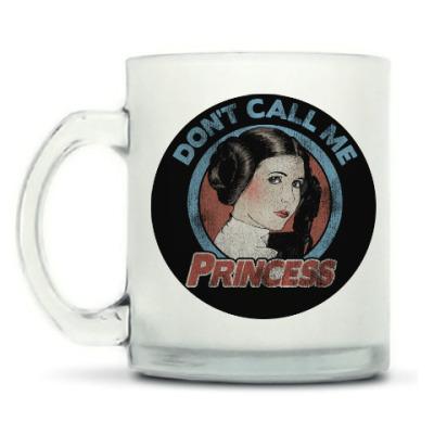 Кружка матовая Star Wars Princess Leia Organa