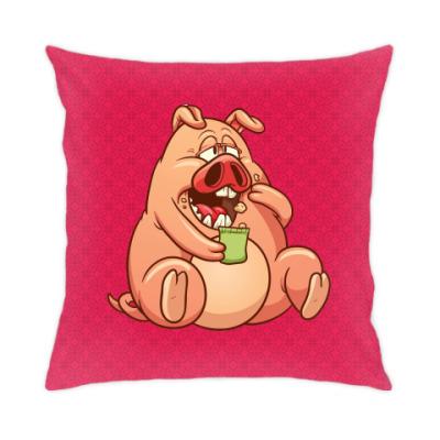 Подушка Fat Pig