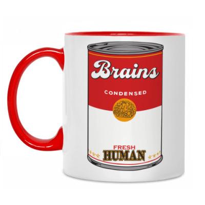 Кружка BRAINS FRESH HUMAN