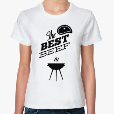 Классическая футболка Отдых на природе