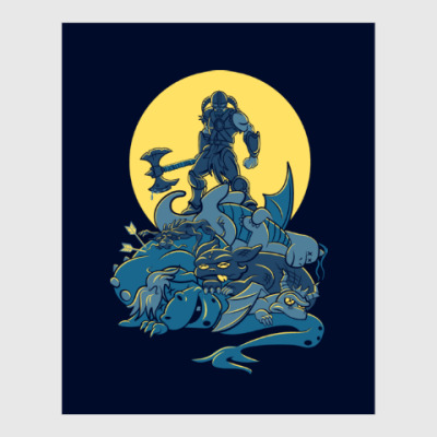 Постер Skyrim