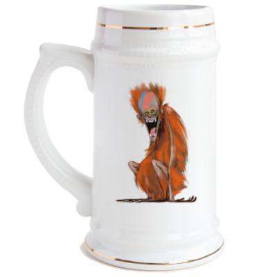 Пивная кружка Огненная Обезьяна