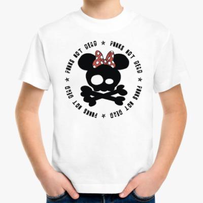 Детская футболка Маленьким любителям мультиков и рока