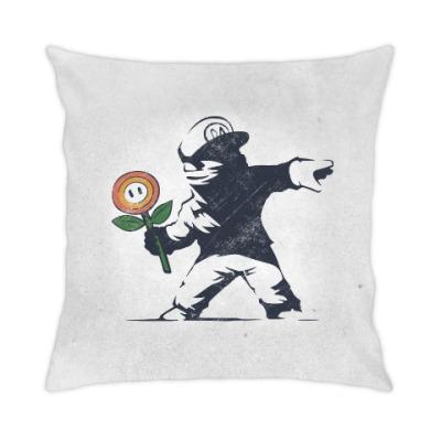 Подушка Граффити Марио
