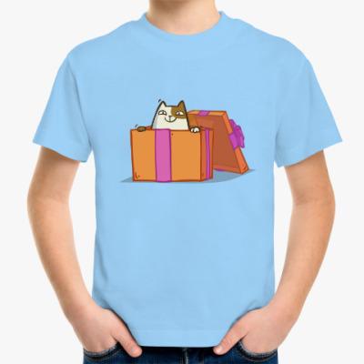 Детская футболка Новокот — Пятничный Котик №36
