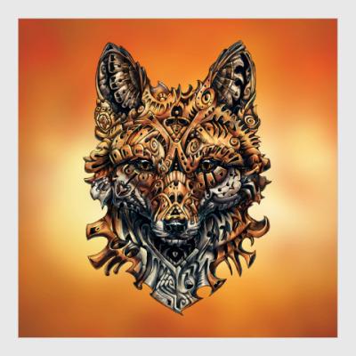 Постер Mechanical Fox