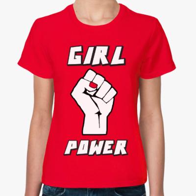 Женская футболка Girl Power