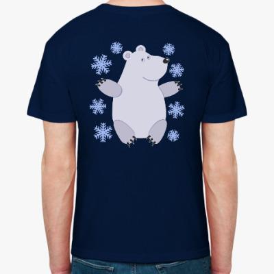 Футболка Зимний медведь