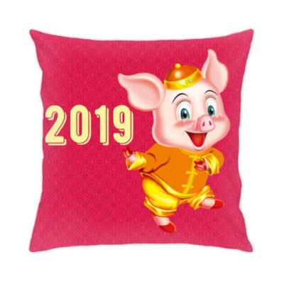 Подушка Happy Piggy Year
