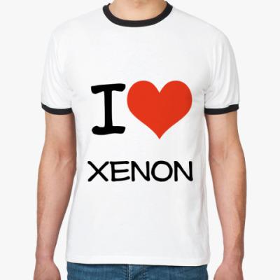 Футболка Ringer-T Xenon