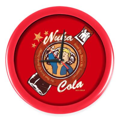 Настенные часы Fallout Nuka Cola Vault Boy