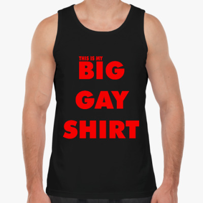 Майка BIG GAY SHIRT [COLOR+]