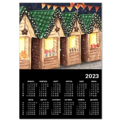 Календарь Рождественская ярмарка