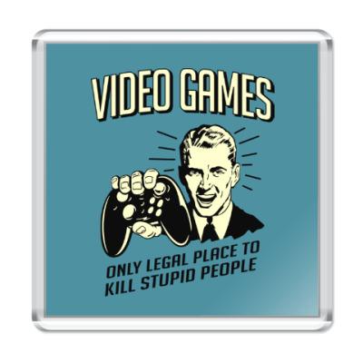 Магнит Video Games