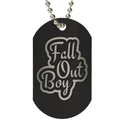 Жетон dog-tag Fall Out Boy