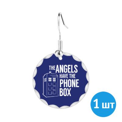 Серьги The Angels Have The Phone Box