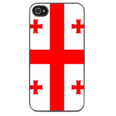 Чехол для iPhone Флаг Грузии