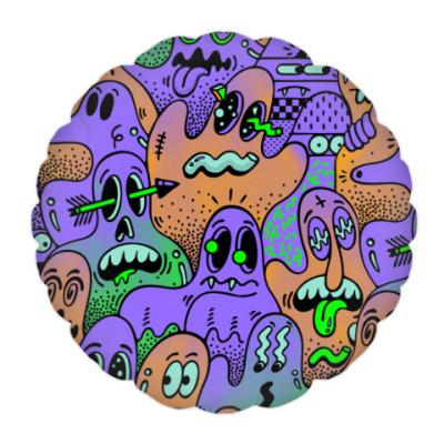 Подушка Psychedelic Ghosts