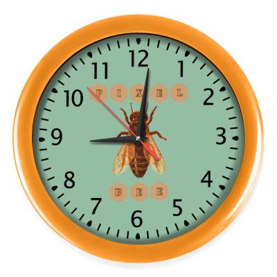 Настенные часы Pixel Bee