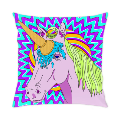 Подушка IceCream Unicorn