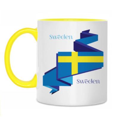 Кружка Шведский флаг