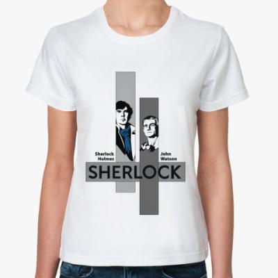 Классическая футболка SH and JW