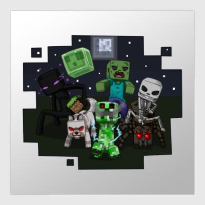 Постер Minecraft