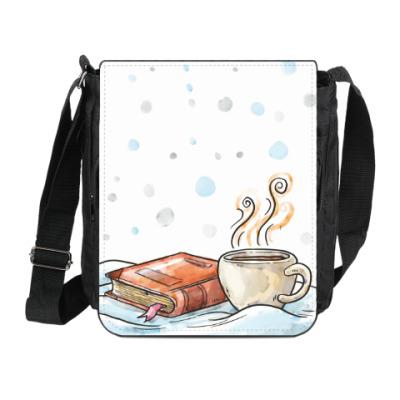 Сумка на плечо (мини-планшет)  Для читателей мечтателей