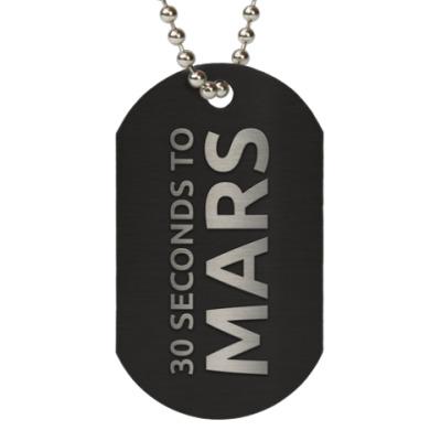 Жетон dog-tag 30 Seconds To Mars