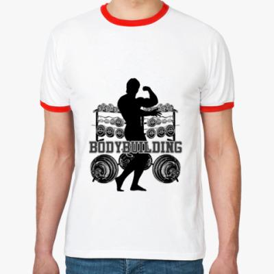 Футболка Ringer-T Bodybuilding