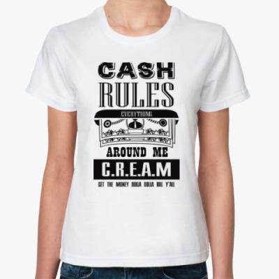 Классическая футболка C.R.E.A.M