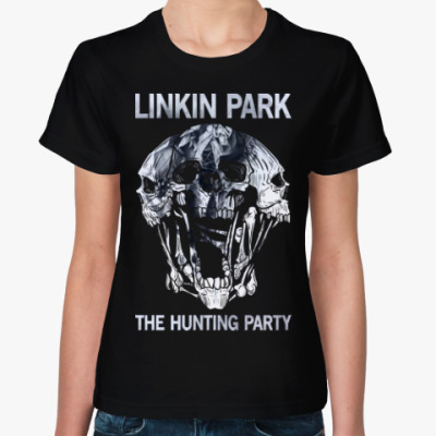 Женская футболка Linkin Park The Hunting Party