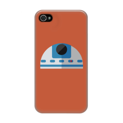 Чехол для iPhone 4/4s Star Wars: R2-D2