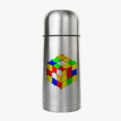 Термос Кубик Рубика