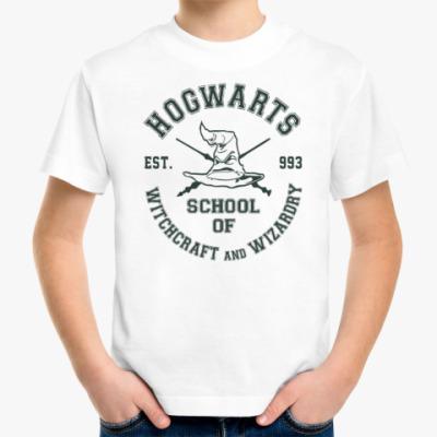 Детская футболка Hogwarts