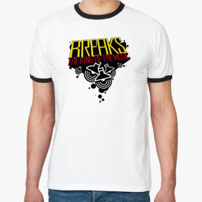 Футболка Ringer-T  Breaks_King! (муж.)