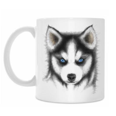 Кружка Сибирский хаски Siberian husky