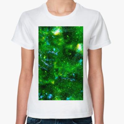 Классическая футболка Кислотный космос