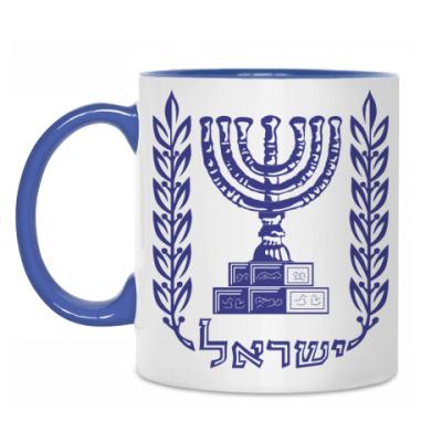 Кружка Герб Израиля