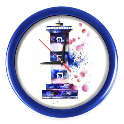 Настенные часы Космический маяк