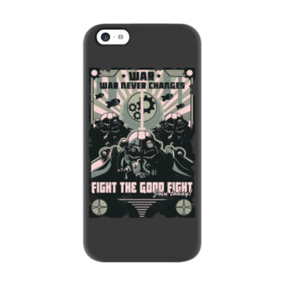 Чехол для iPhone 5c Fallout Фоллаут