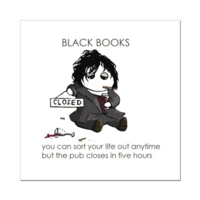 Black Books Dylan Moran