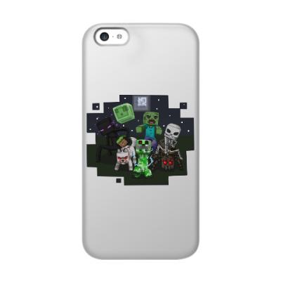 Чехол для iPhone 5c Minecraft